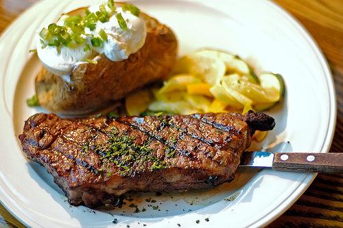 Steak Dinner - Coxs